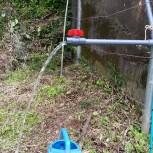サイフォン式灌漑設備