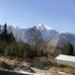 南アルプス山脈二