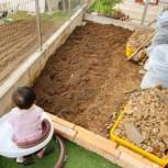 土づくり(堆肥と肥料)