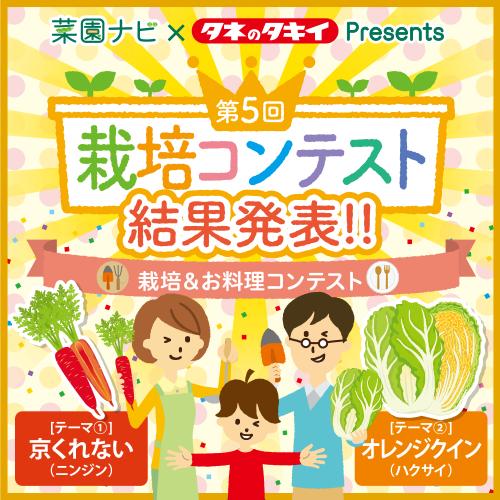京くれない・オレンジクイン栽培&お料理コンコンテスト