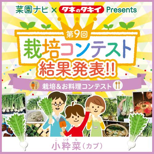 小粋菜栽培&お料理コンコンテスト